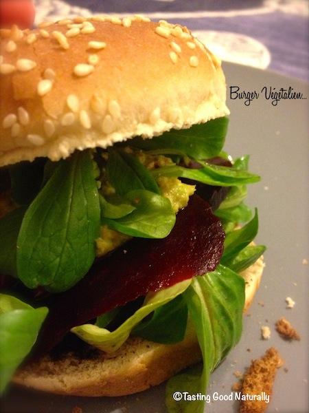 Burger vegetalien
