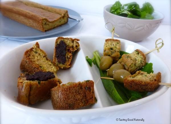 Cake Végétalien aux Herbes – vegan