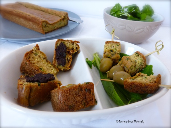 Cake vegetalien aux herbes