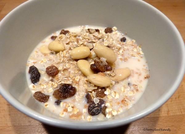 Tasting Good Naturally : Céréales du petit-déjeuner #vegan