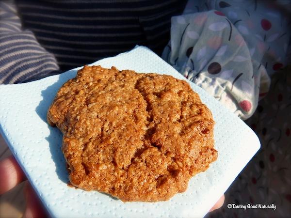 Cookies banane noix de coco - vegetalien