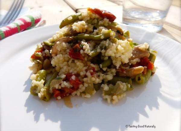 Couscous de légumes – végétalien –