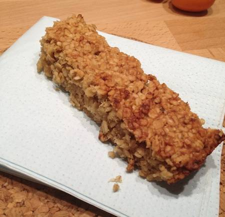 Tasting Good Naturally : Flapjack #vegan