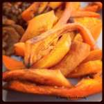 Tasting Good Naturally : Frites de potimarron #vegan