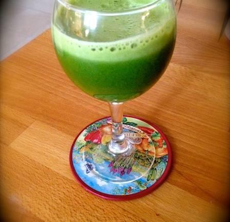Tasting Good Naturally : Jus de légumes... vert #vegan