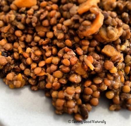 Lentilles aux carottes et céleri #vegan