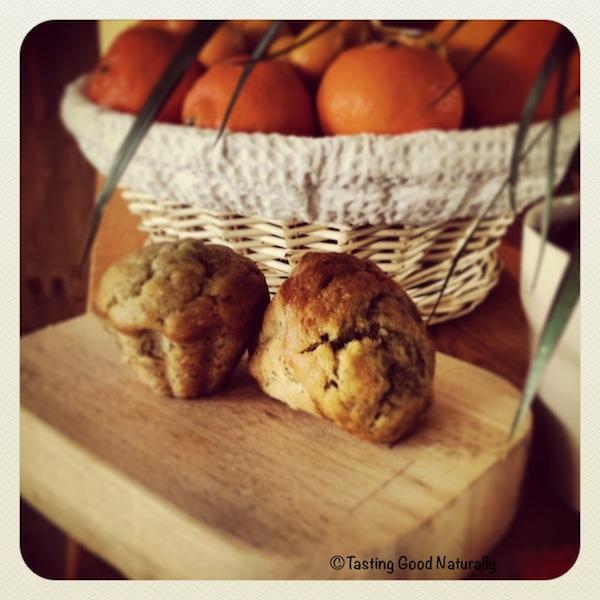 Muffins à la banane - végétalien