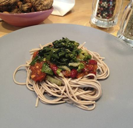 Tasting Good Naturally : Nouilles soba à la tomate #vegan