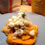 Tasting Good Naturally : Patate douce et sauce chou-fleur #vegan