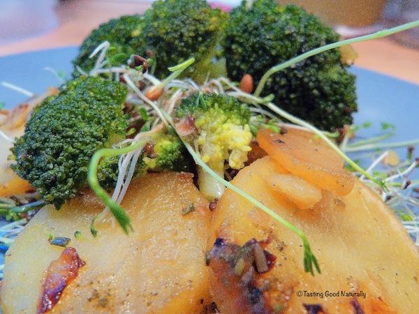 pommes de terre et brocolis