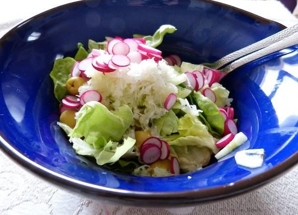 Salade de crudités – Végétalienne –
