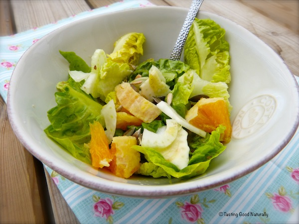 Tasting Good Naturally : Salade de fenouil et orange