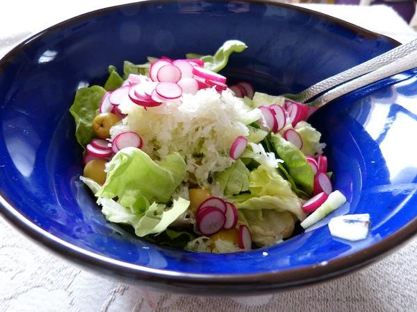 Tasting Good Naturally : Salade de crudités
