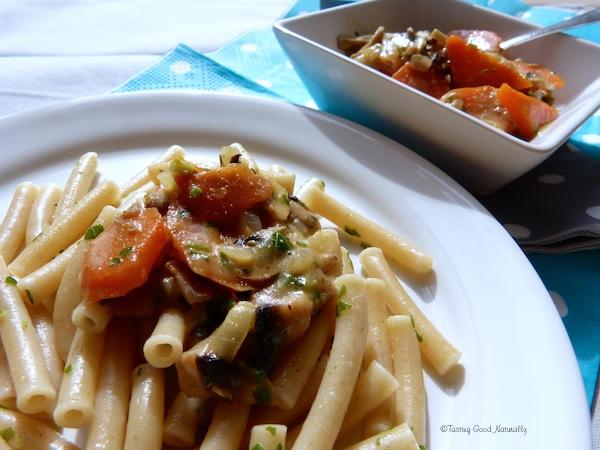 sauce carottes champignons