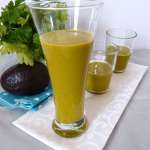 Tasting Good Naturally : Smoothie d'avocat au jus de carottes et brocolis #vegan