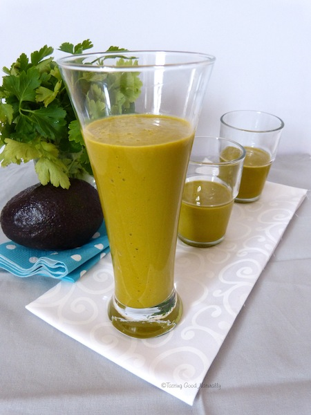 Smoothie avoca brocoli