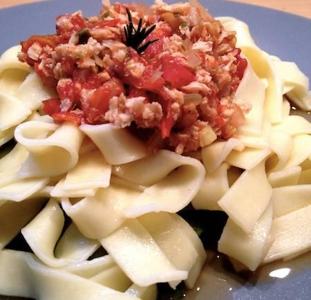 Tasting Good Naturally : Tagliatelles façon bolognaise #vegan