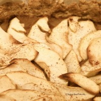 Tasting Good Naturally : Tarte aux pommes végétalienne