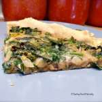 Tasting Good Naturally : Tarte aux épinards #vegan