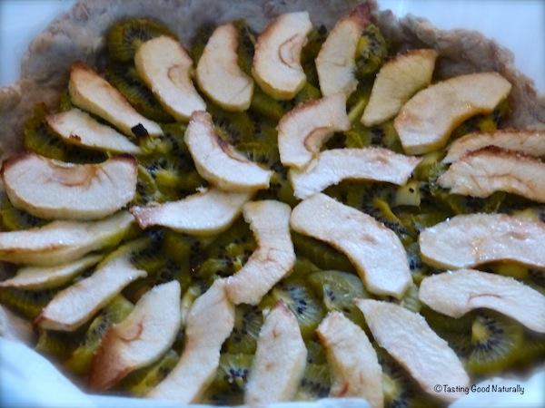 Tarte pommes kiwis 2