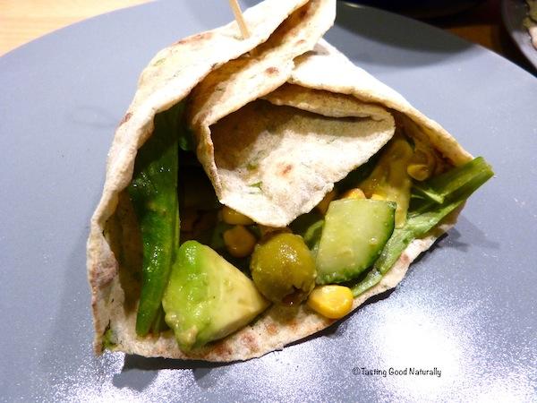 Tasting Good Naturally : Tortillas a la roquette 1