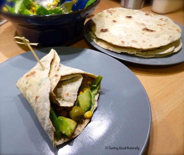 Tasting Good Naturally : Tortillas a la roquette