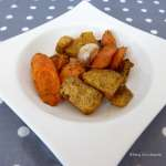 Tasting Good Naturally : Navets boules d'or et carottes aux four #vegan