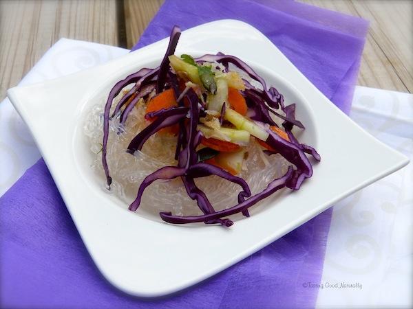 Salade aux vermicelles de riz