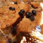 Tasting Good Naturally : Bread without butter pudding #vegan