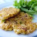 Tasting Good Naturally : Galette flocons carottes panais #vegan