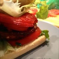 Tasting Good Naturally : Burger végétalien aux champignons