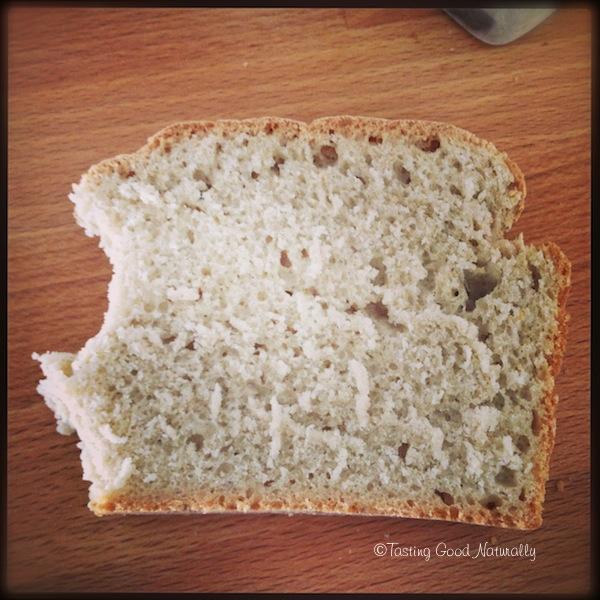 pain à la farine bise vegan