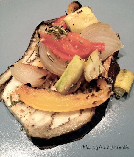 Tasting Good Naturally : Profitez des légumes d'été avec cette recette : Aubergine et légumes rôtis sans matière grasse #vegan