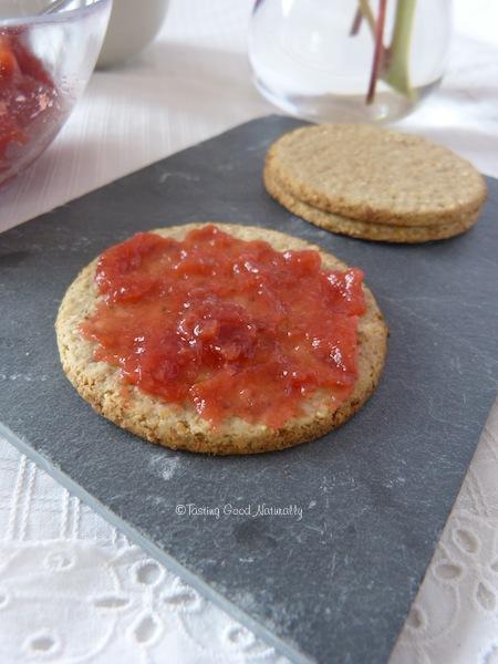 confiture gelée fraise abricot pomme