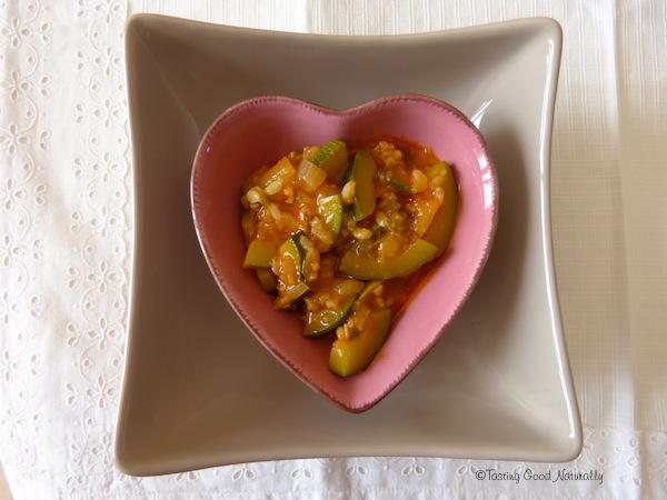 courgettes paprika marmelade vegan