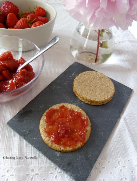 Gel e confiture de fraises abricots pommes et romarin - Gelee de pommes avec extracteur ...