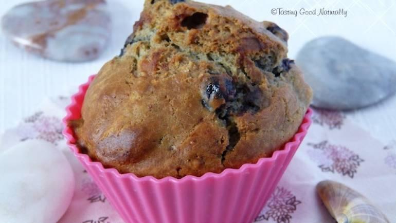 Muffin à la myrtille #vegan