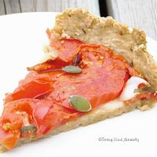 Tasting Good Naturally : Tarte à la tomate #vegan