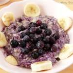 Tasting Good Naturally : Petit déjeuner aux flocons de sarrasin, myrtilles et bananes #vegan