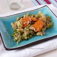Tasting Good Naturally : riz aux légumes et saviez-vous que le riz se congelait ?