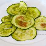 Tasting Good Naturally : Courgettes à l'ail des ours #vegan