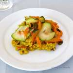 Tasting Good Naturally : Millet au curry #vegan