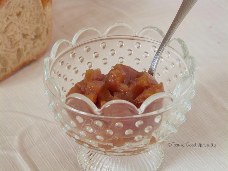 Confiture poires à l'eau de rose #vegan