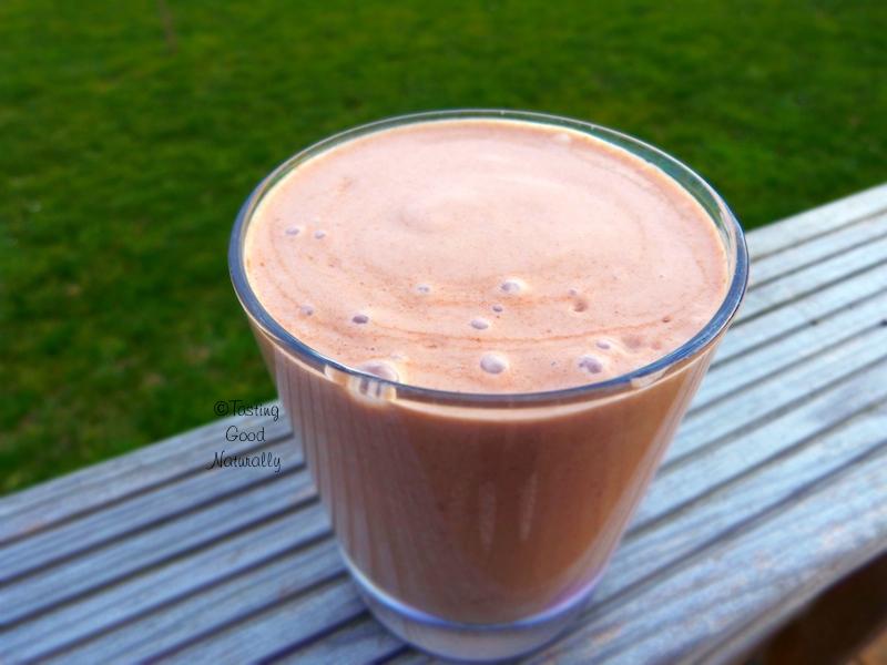 Smoothie noix de macadamia banane cacao coco #vegan