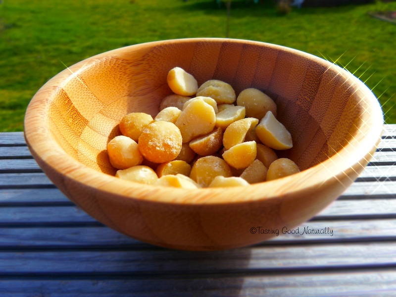 Noix de macadamia #vegan #cru #bio