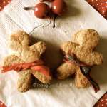 Gingerbread man cookies (cookies gingembre cannelle) #vegan