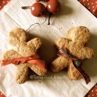 Tasting Good Naturally : Gingerbread Man Cookies Vegan