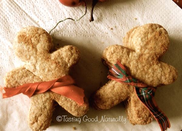 Tasting Good Naturally : Gingerbread Man Cookies Vegan