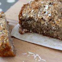 Tasting Good Naturally : Cake banane noix de coco sans gluten #vegan