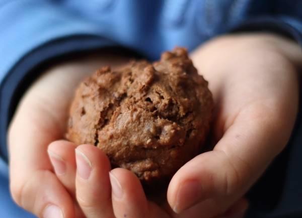 Muffins au chocolat et pépites de cacao #vegan
